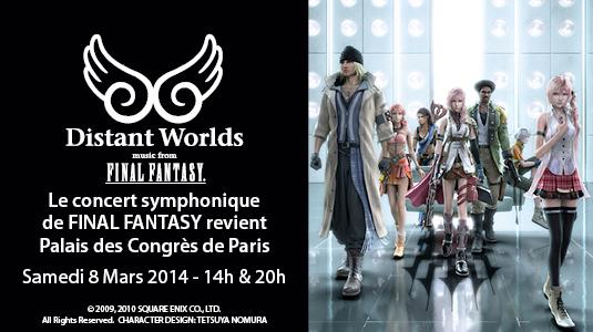 Distant Worlds de retour à Paris en 2014